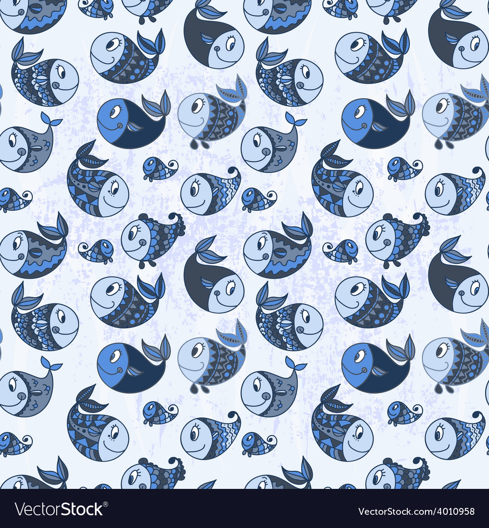 Seamless pattern background of colorful happy