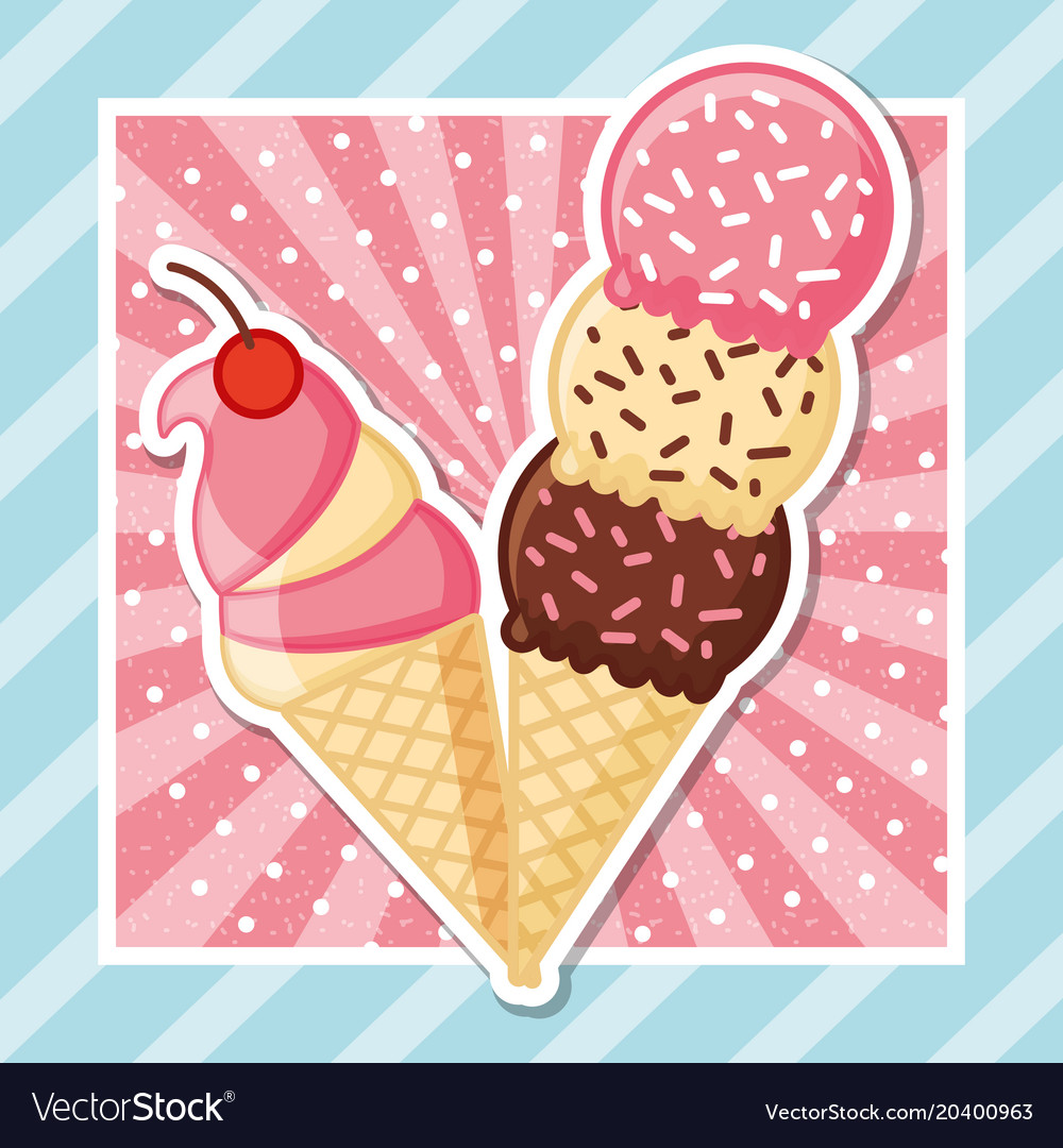 Ice cream tasty image