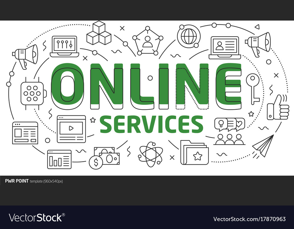 Lines template online services