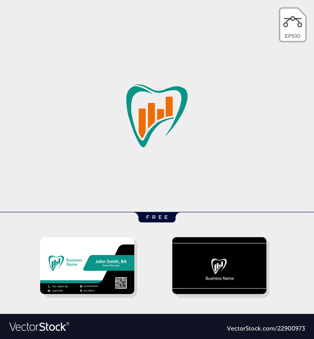 Accounting finance concept logo template free
