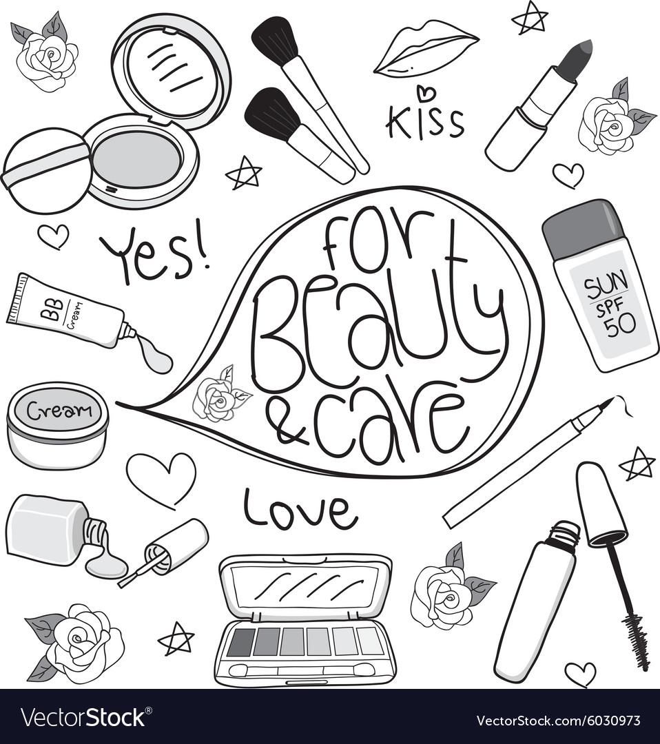 Cosmetics cute