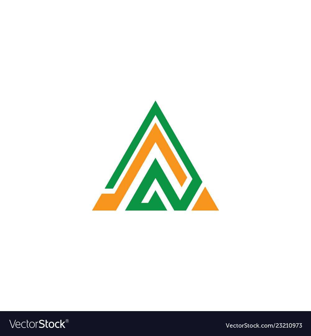 Triangle abstract logo