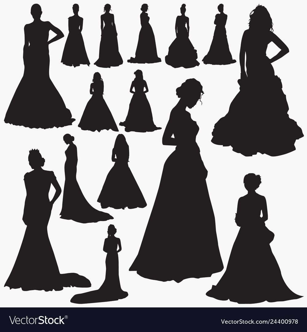 wedding dresses silhouettes