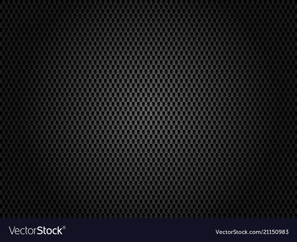 Abstract carbon fiber texture on dark background