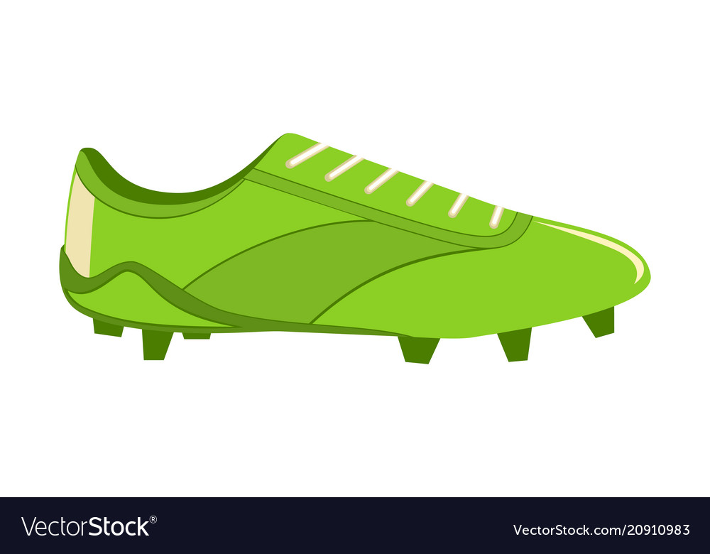 70d05f11a Colorful cartoon soccer boots Royalty Free Vector Image