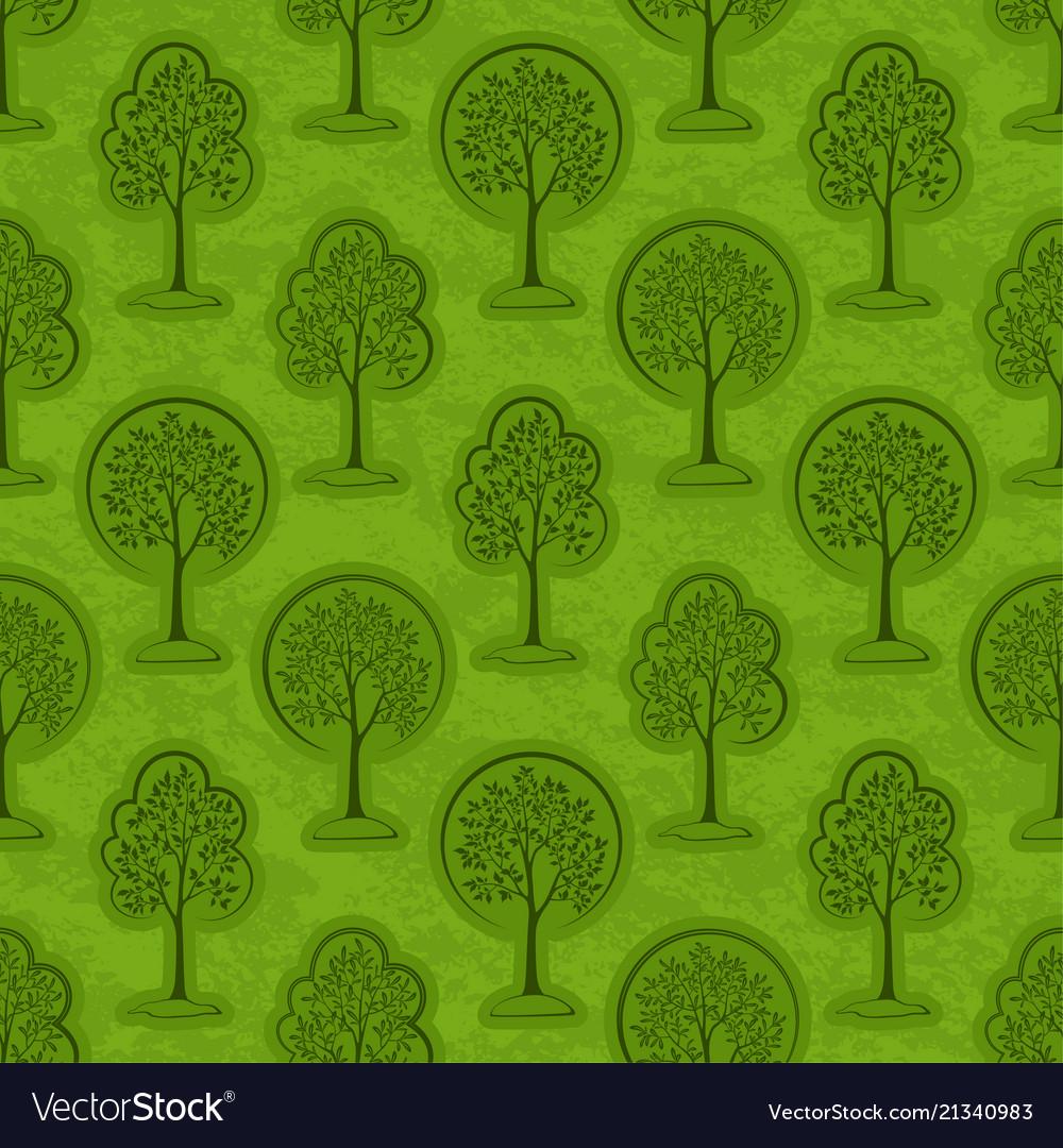 Trees seamless