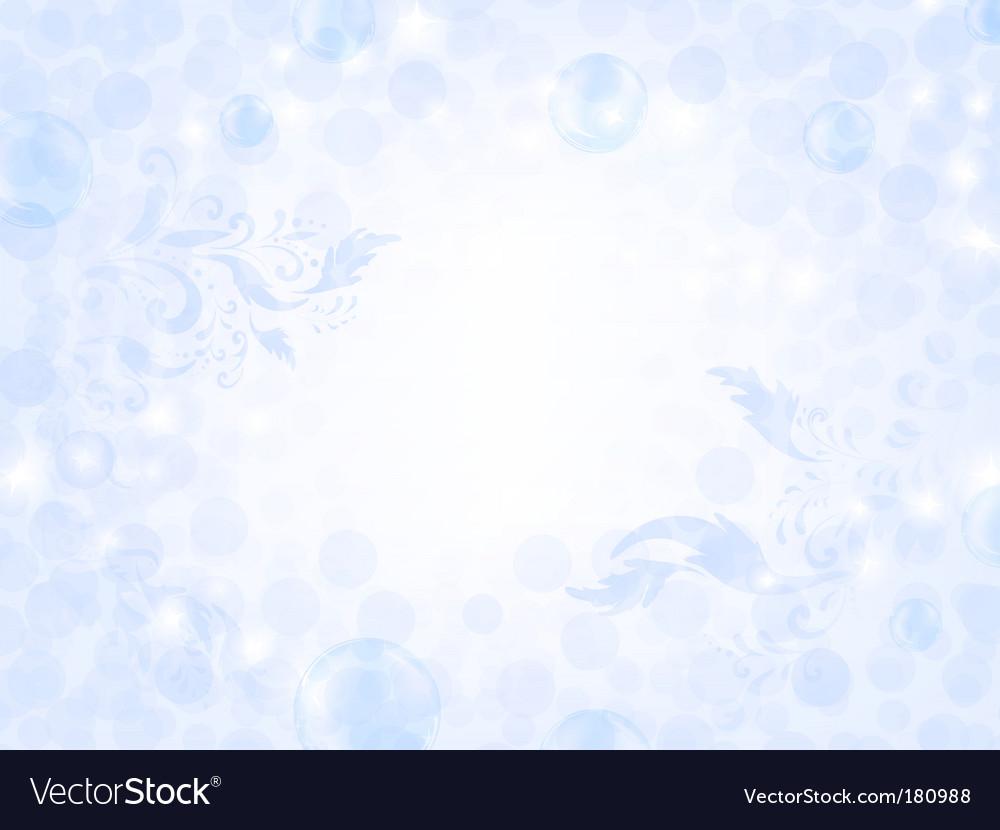 Air bubble frame