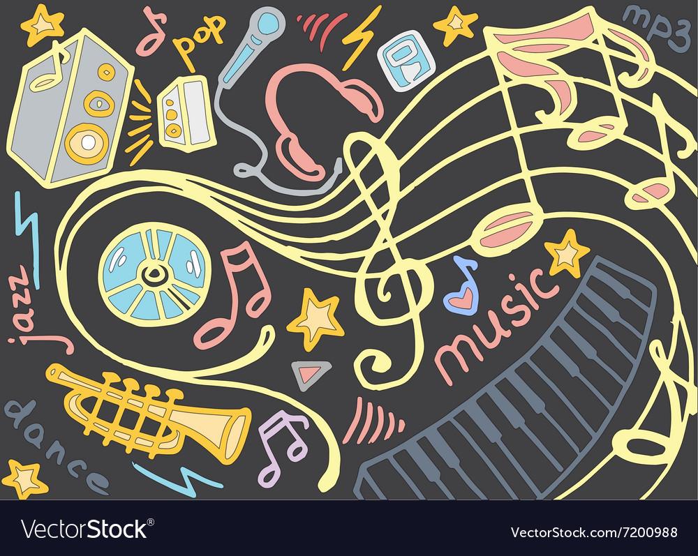 Doodle set music