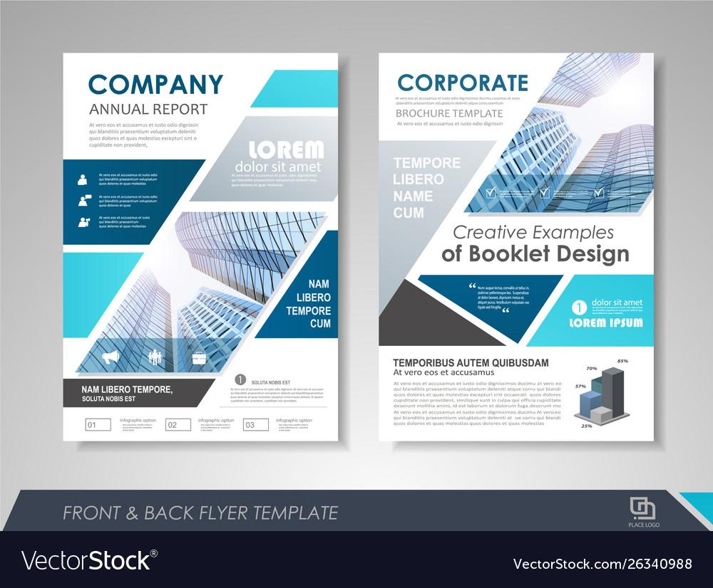 Flyer presentation template