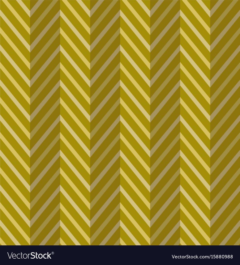 Zig zag gold seamless pattern vector image