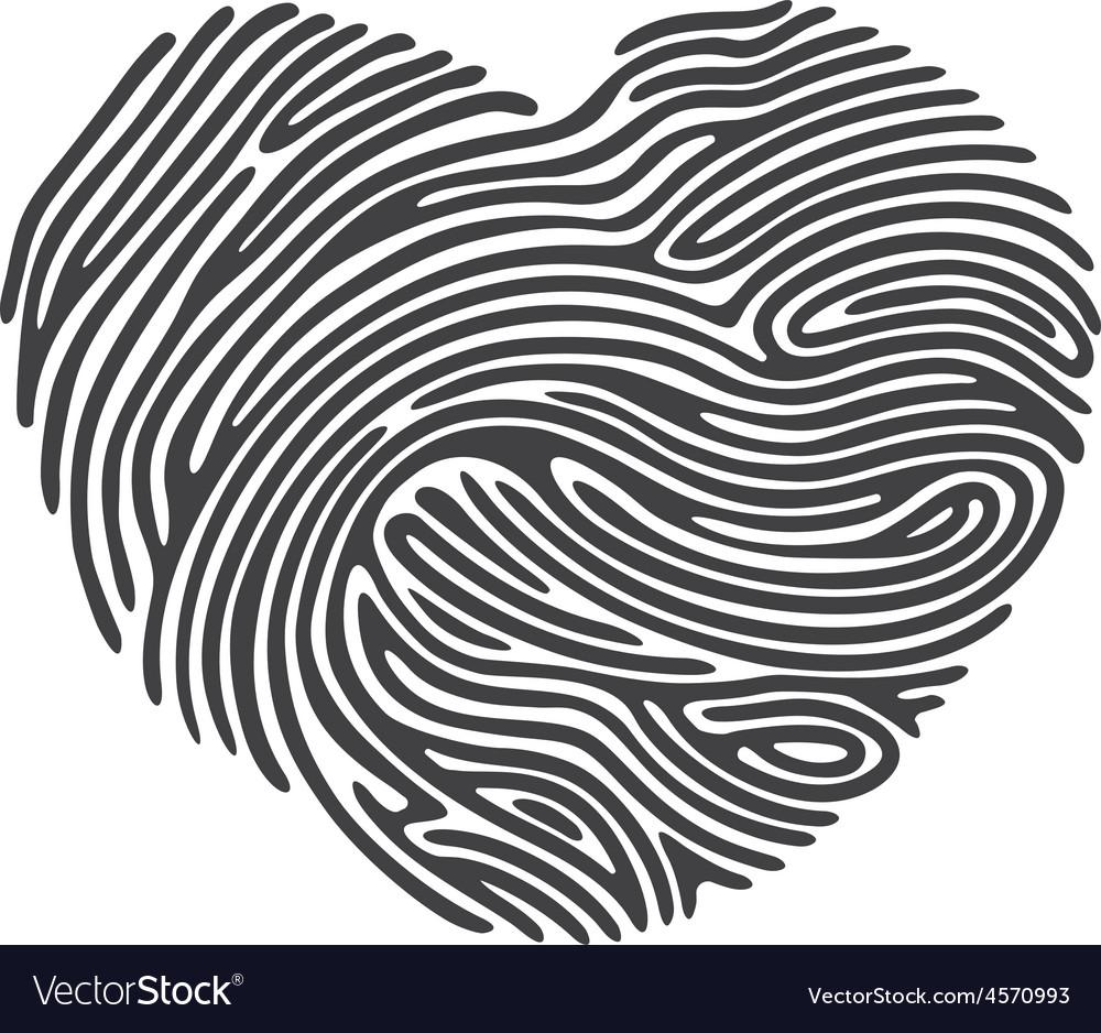 Dashed Line Fingerprint
