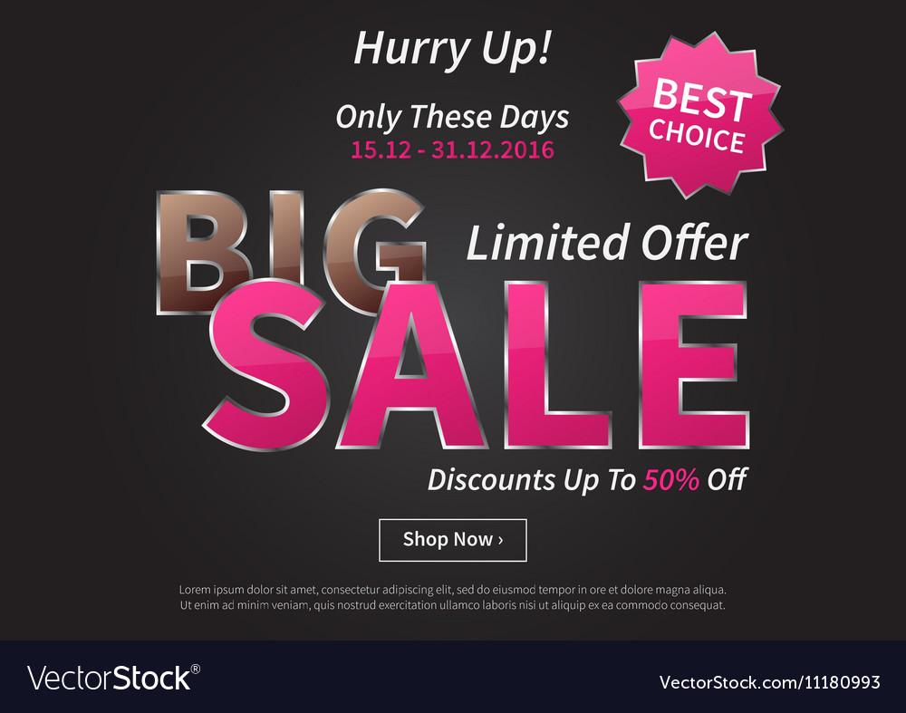 Poster Big Sale Limited Offer