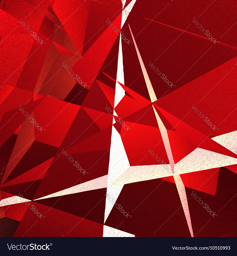 Retro geometric background with colorful triangles