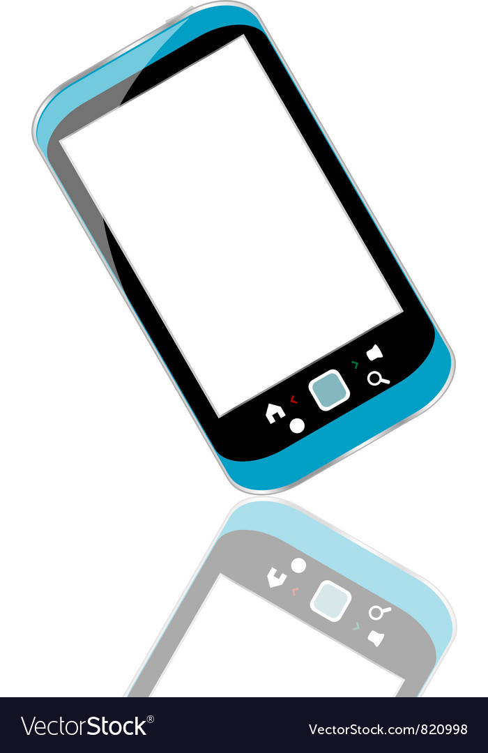 Modern smart phone for mobile communication with