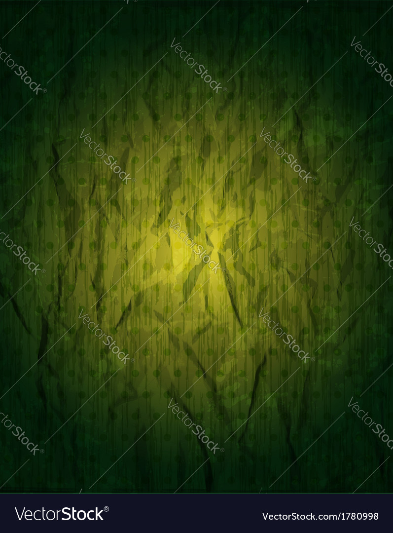 Vintage grungy green background