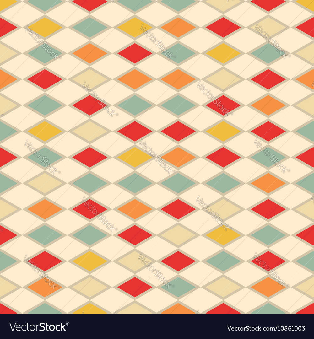 Abstract vintage background with triangles