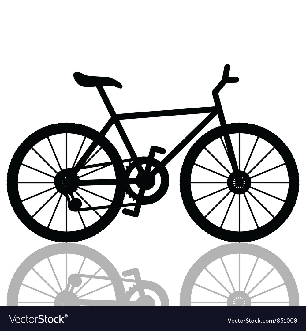 bicycle royalty free vector image vectorstock rh vectorstock com vector cycling vector cyclist