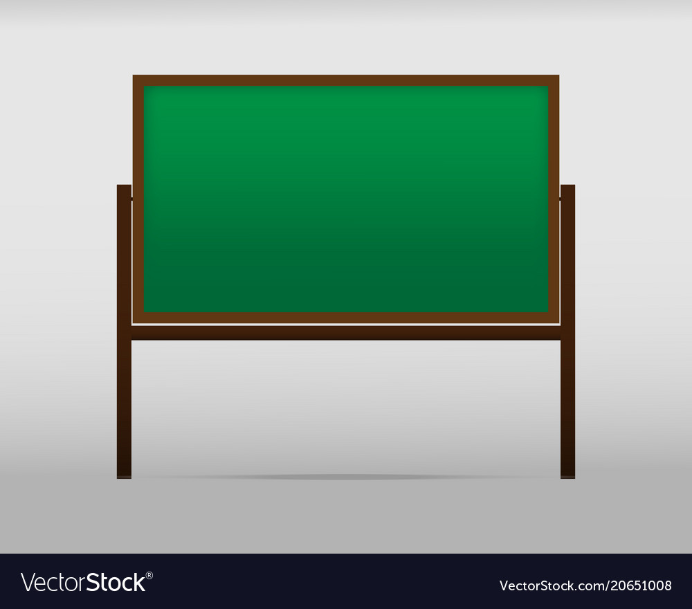 The school board on the background vector image