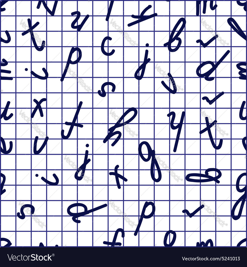 Copybook pattern
