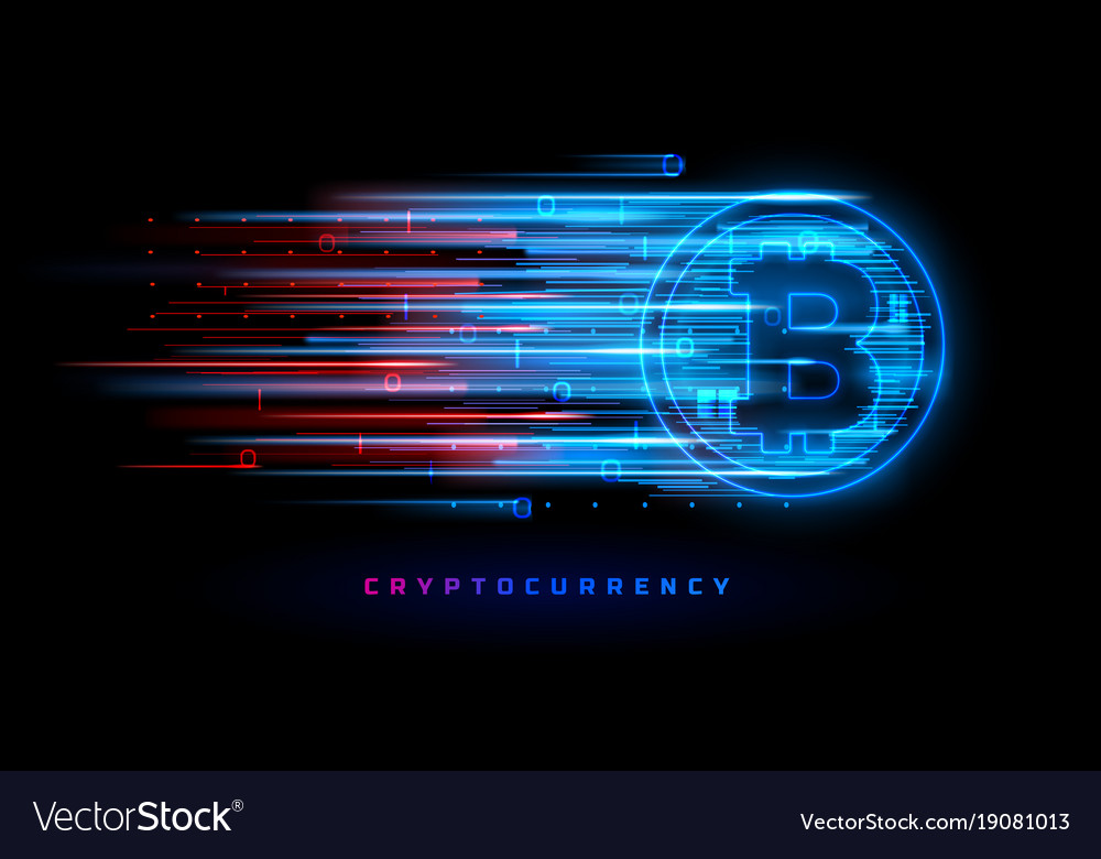 Cryptocurrency concept technology