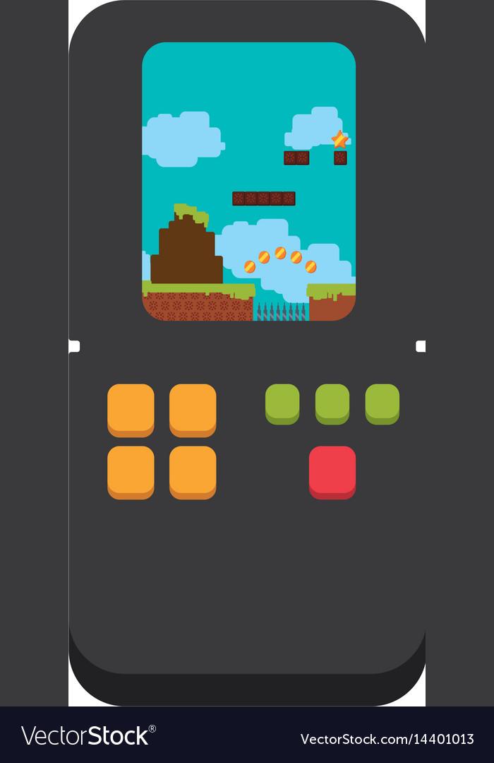 Tetris videogame console