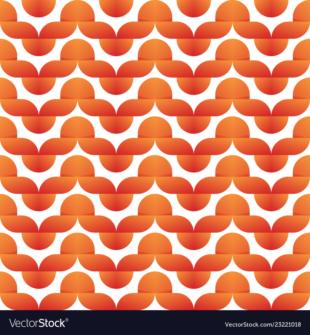 Simple vintage wave seamless pattern or background