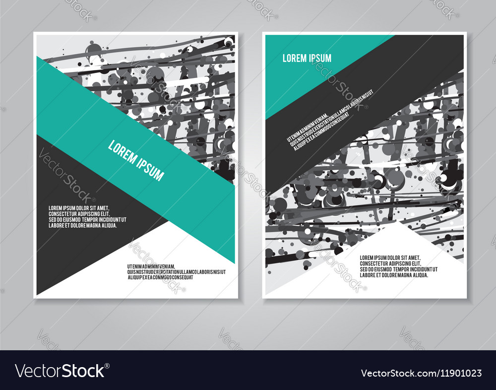 Booklet layout creative template