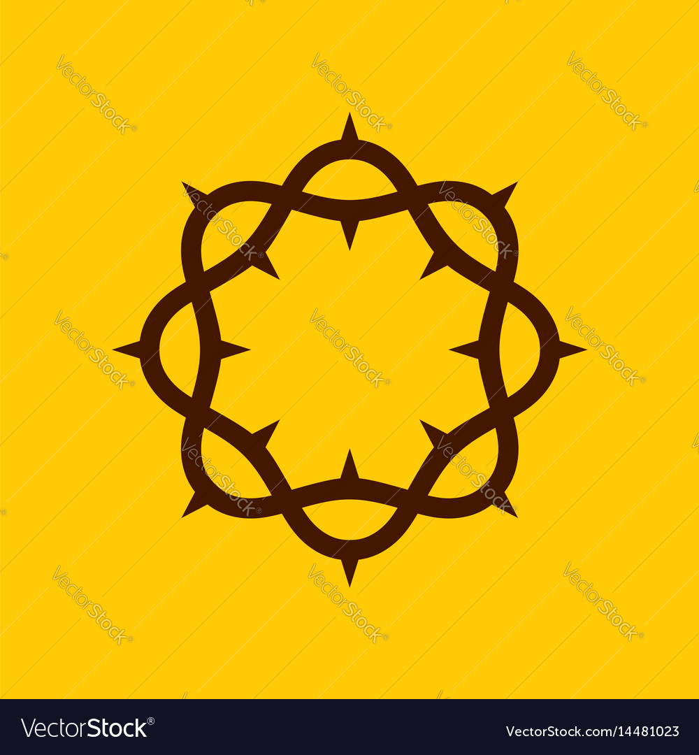 Crown of thorns of the lord jesus christ