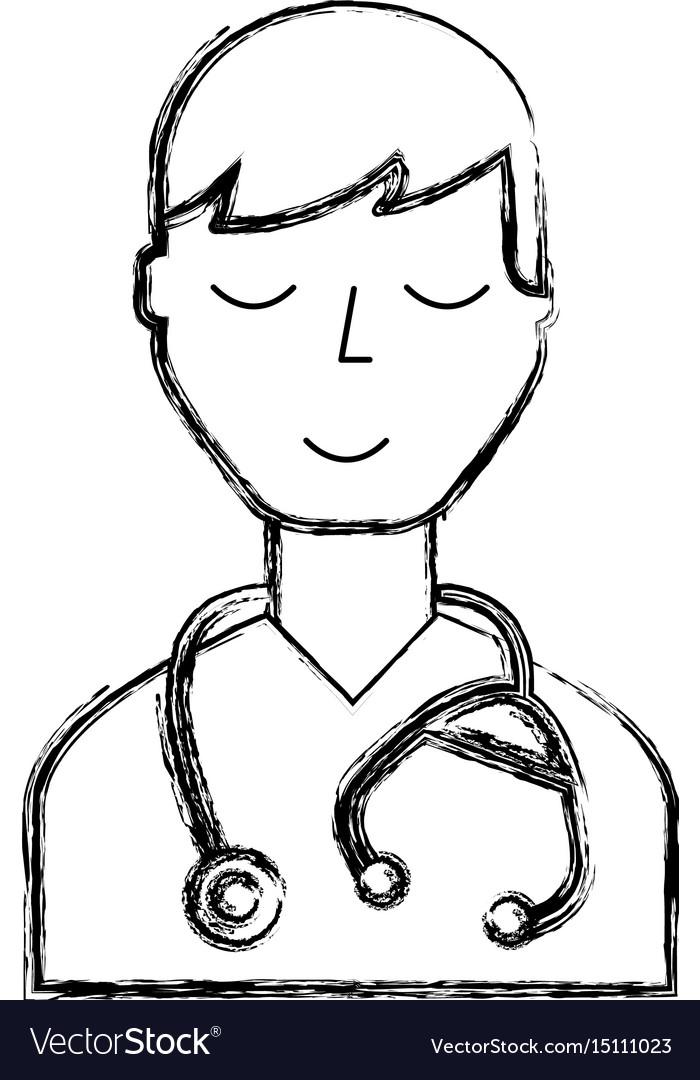 Doctor character cartoon