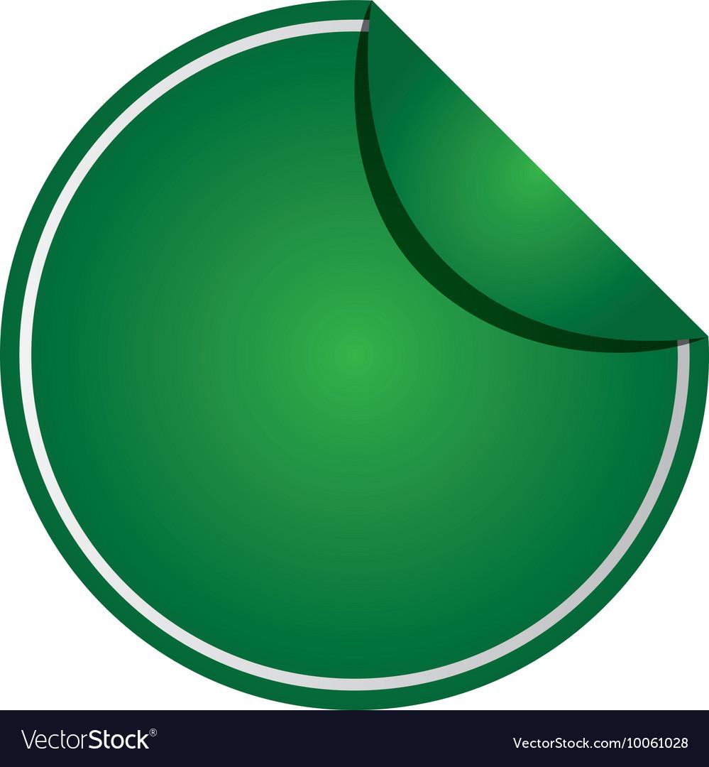 round badge icon royalty free vector image vectorstock