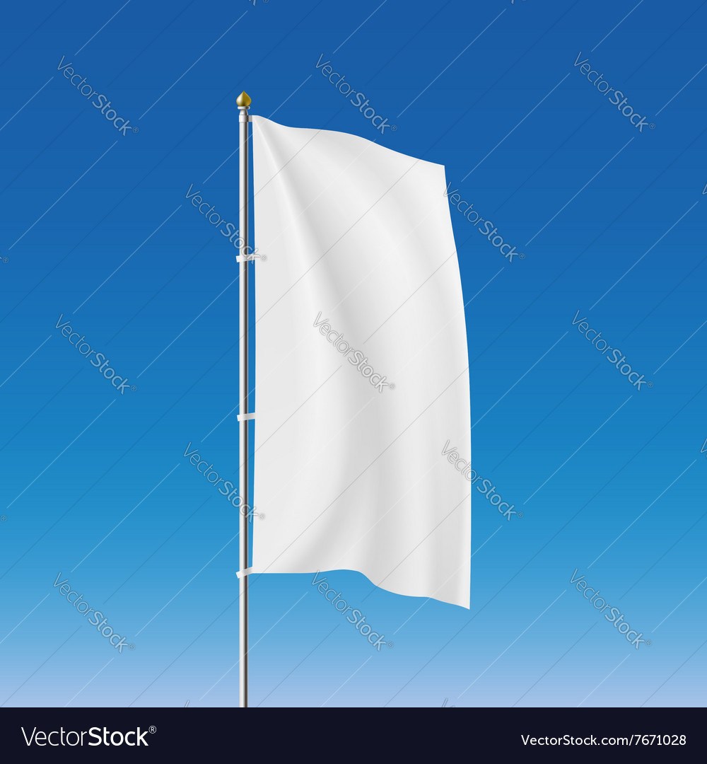 White flag Stock