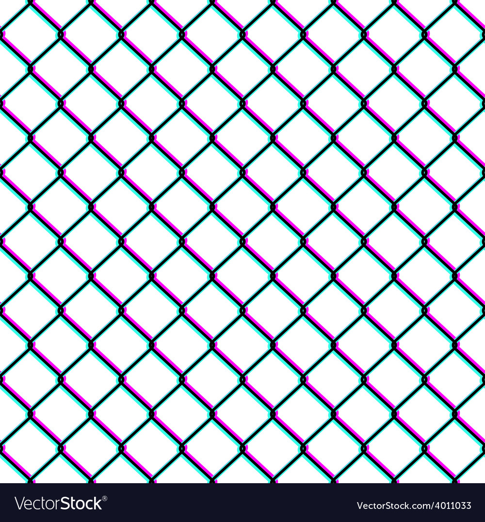 Chain-link fence seamless pattern