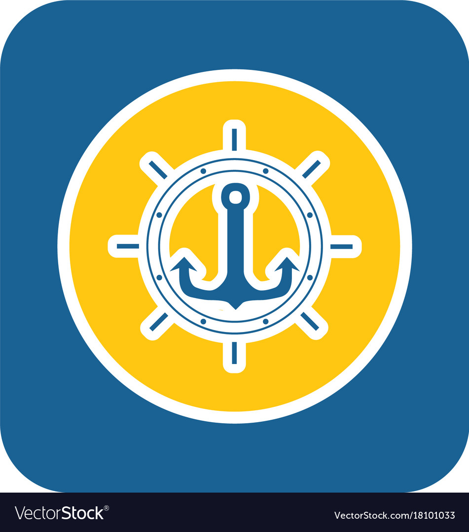 Sea sticker icon