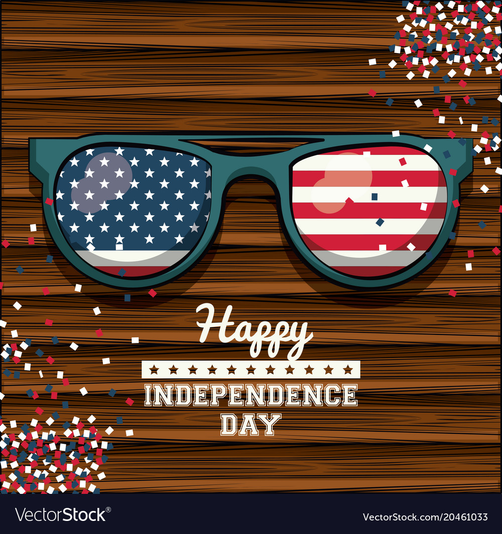Usa independence day card