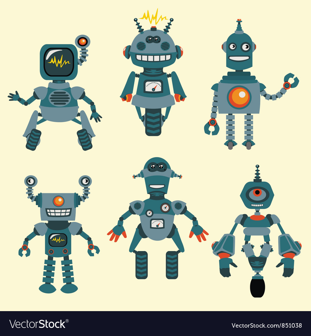 Cute little Robots Collection