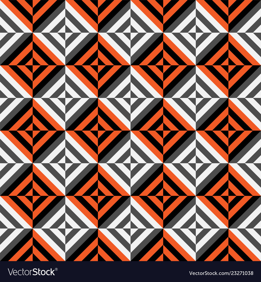 Geometric seamless pattern with stripes