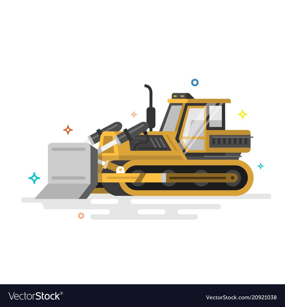 Loader excavator front load washing machine