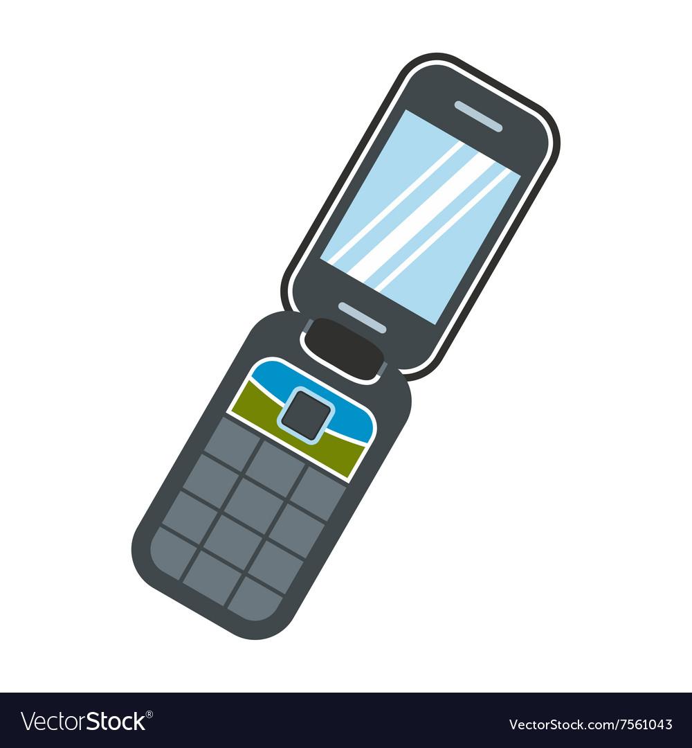 Flat Handphone Vector Png - HP Buzz