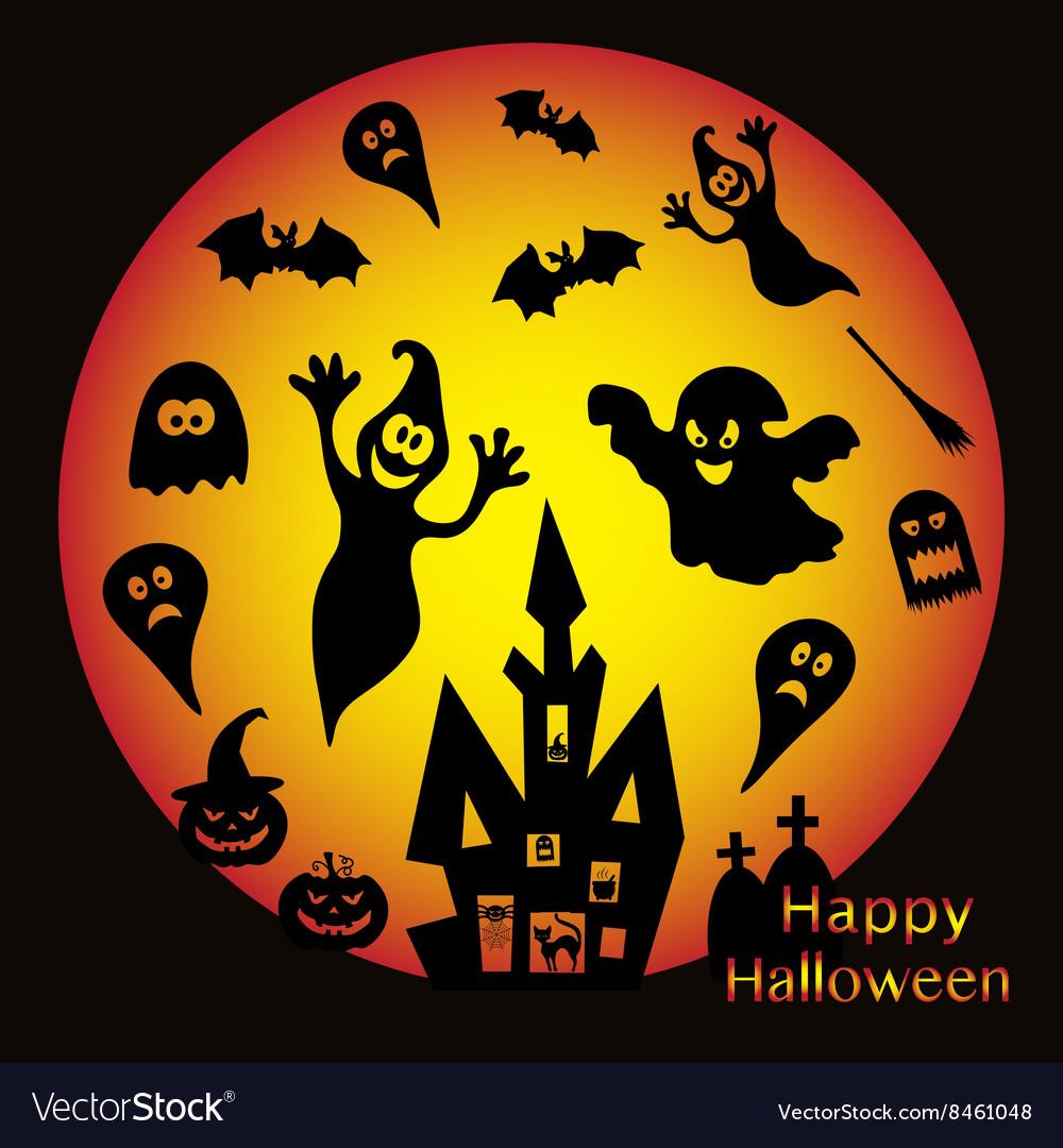 Holiday on theme of Halloween