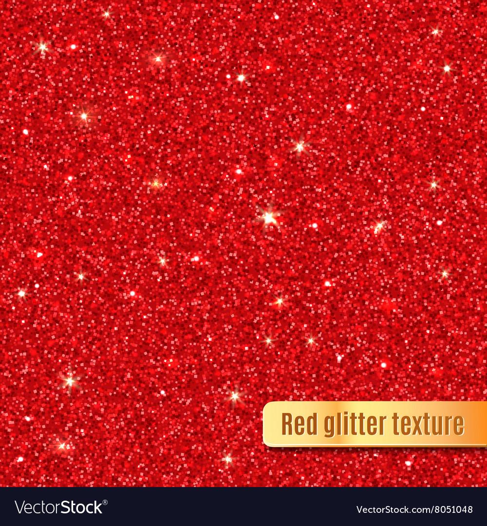 Red glitter texture