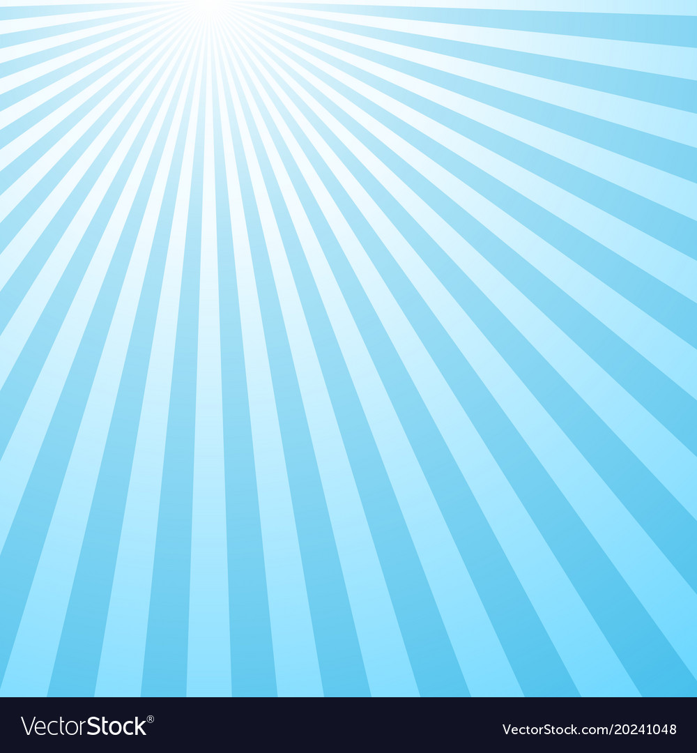 Retro abstract gradient ray pattern background vector image