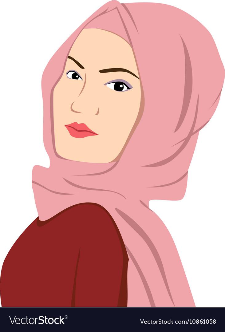 Beautiful Islamic Woman In Hijab Sharia