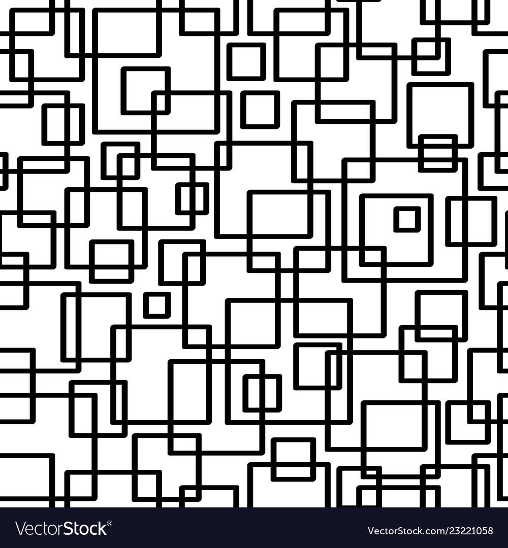 Seamless geometric pattern geometric simple print
