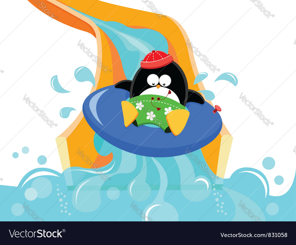 Water Slide Penguin