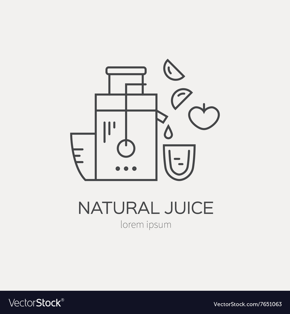 juice maker royalty free vector image vectorstock vectorstock