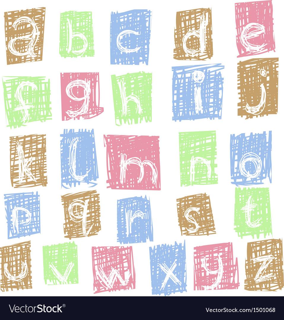 Doodle alphabet 2