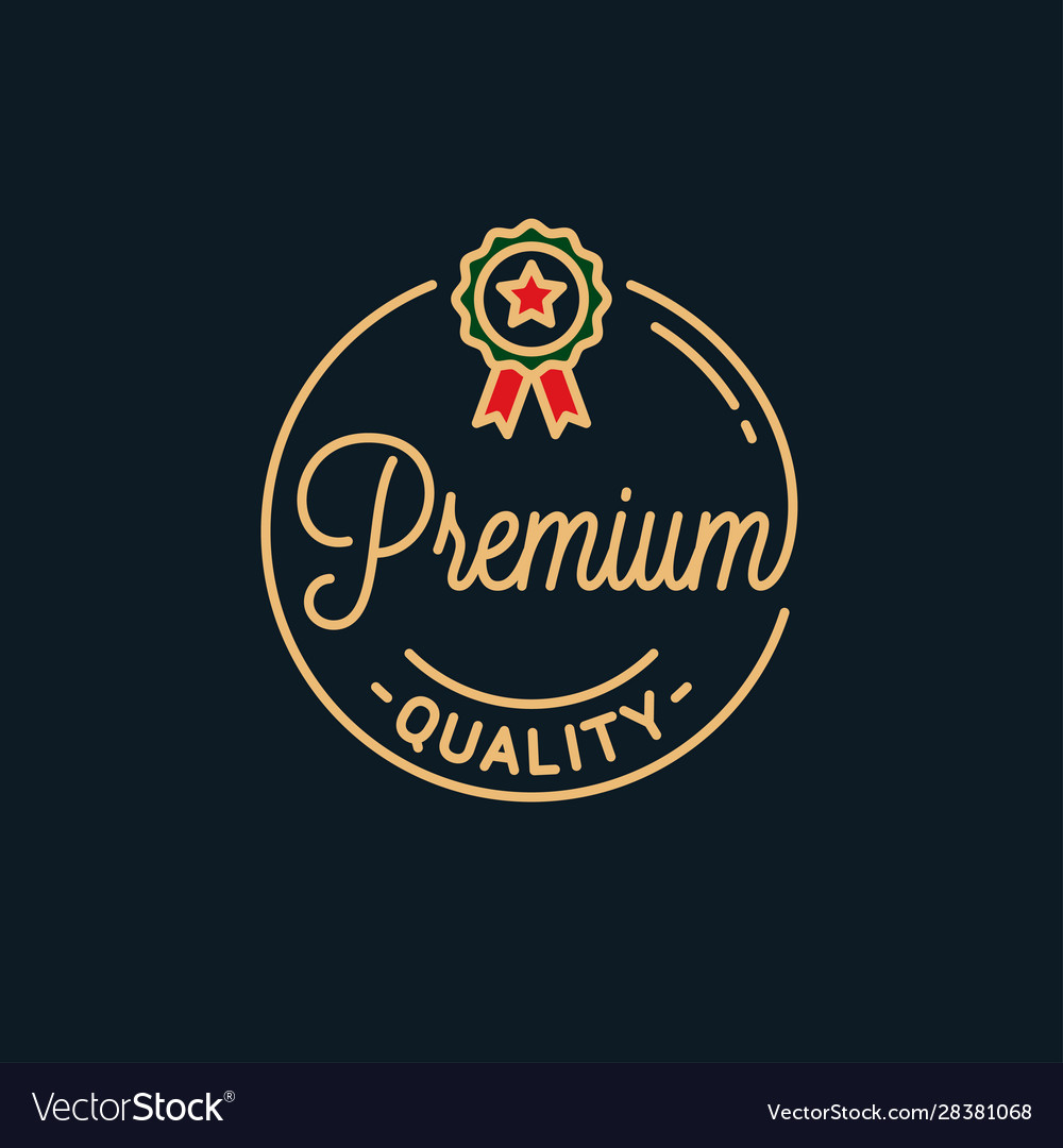 Premium quality logo round linear best product