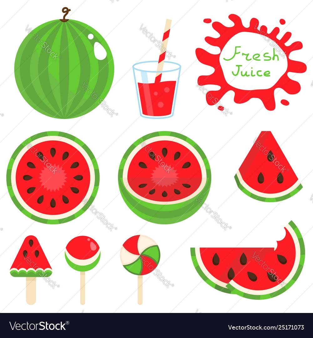 Set watermelon
