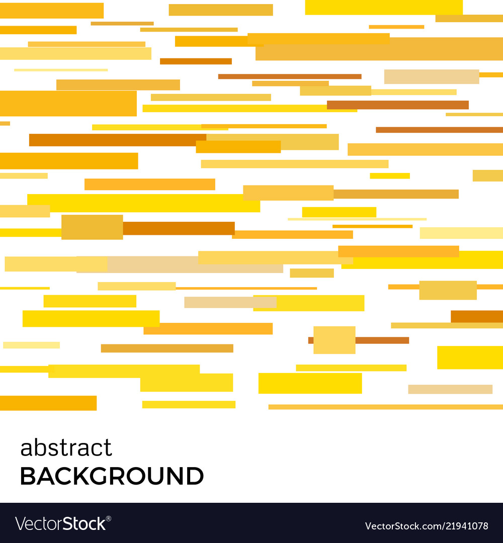 Abstract background of yellow rectangles