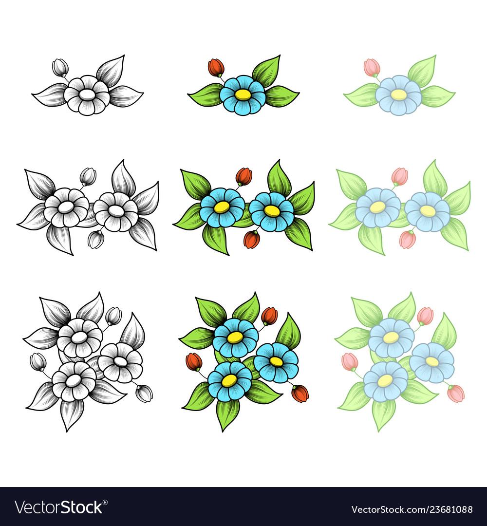 Daisy small bouquets